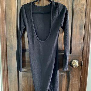 Aritzia community ribbed dress
